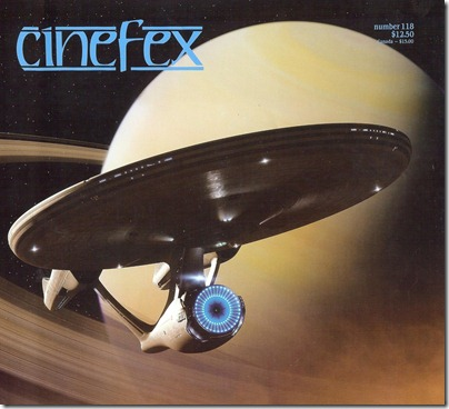 Cinefex Cover